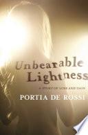 Book Unbearable Lightness