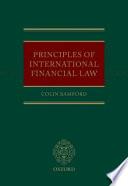 Principles of International Financial Law