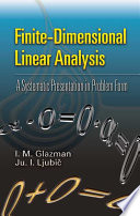 Finite dimensional Linear Analysis