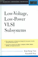 Low Voltage  Low Power VLSI Subsystems