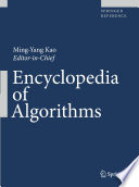 Encyclopedia Of Algorithms : provides a comprehensive set of solutions to...