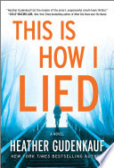 Book This Is How I Lied