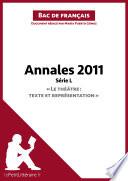 Bac de français 2011 - Annales Série L (Corrigé)