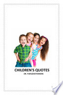 Children s Quotes