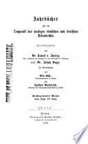 Jherings Jahrbücher für die Dogmatik des bürgerlichen Rechts