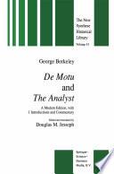 De Motu and the Analyst