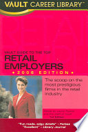 Vault Guide To The Top Retail Employers