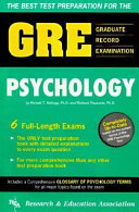 The Best Test Preparation for the GRE  Graduate Record Examination in Psychology