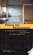 Poetik des Privatraums