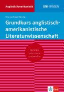 Klett Uni Wissen Grundkurs anglistisch-amerikanistische Literaturwissenschaft