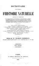 Dictionnaire universel d'histoire naturelle - tome 4 (C-DIC)