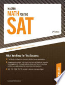 Master Math for the SAT