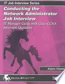 Conducting the Network Administrator Job Interview