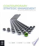 Contemporary Strategic Management Google Ebook