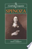 The Cambridge Companion to Spinoza