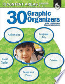 30 Graphic Organizers for the Content Areas  Graphic Organizers to Improve Literacy Skills
