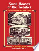 Sears  Roebuck Catalog of Houses  1926