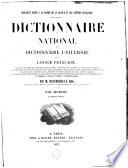 Dictionnaire national ou Dictionnaire universel de la langue française