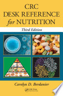 Crc Desk Reference For Nutrition Third Edition book