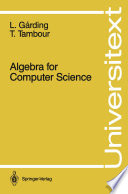 Algebra for Computer Science
