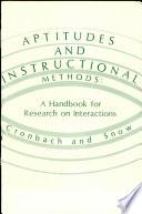 Aptitudes and Instructional Methods