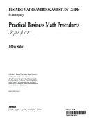 Practical Business Math Procedures