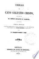 Obras De Cayo Salustio Crispo