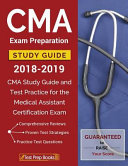 Cma Exam Preparation Study Guide 2018 2019