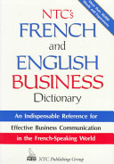 illustration NTC's French and English Business Dictionary