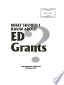 What Should I Know About Ed Grants