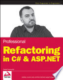 Professional Refactoring in C    ASP NET