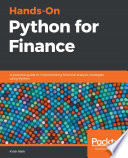 Hands On Python For Finance