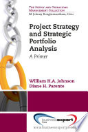Project Strategy and Strategic Portfolio Management