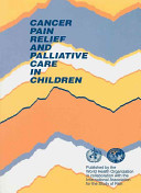 Cancer Pain Relief And Palliative Care In Children