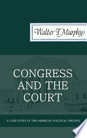 Congress And The Court