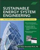 Sustainable Energy System Engineering