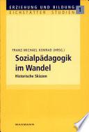 Sozialpädagogik im Wandel
