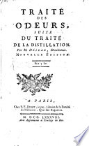 Trait   raisonn   de la distillation