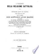 I trionfi della religione cattolica  Sermone detto in Vienna nella quaresima 1874  etc   Nuova ed