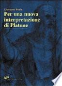 Per una nuova interpretazione di Platone Book Cover