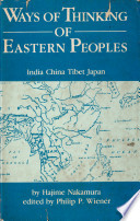 Ways of Thinking of Eastern Peoples