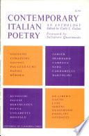 Contemporary Italian poetry