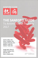 The Sanford Guide to Antimicrobial Therapy 2017