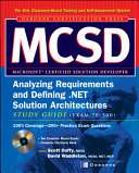 MCSD Analyzing Requirements and Defining  NET Solutions Architectures  Exam 70 300