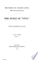 Novels  Tom Burke of  Ours