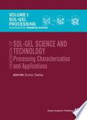 Handbook of sol gel science and technology  1  Sol gel processing