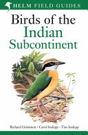 Birds Of The Indian Subcontinent  helm Field Guides    2nd Revised Edition