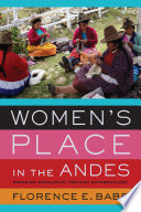 Women s Place in the Andes