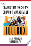 The Classroom Teacher   s Behavior Management Toolbox
