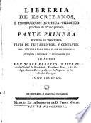 Libreria de escribanos    instruccion juridica theorico pr  ctica de principiantes
